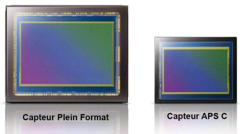 Capteur Plein format ou Capteur APS-C