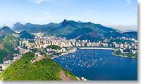 Pano 360 de la baie de Rio