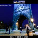 La visite virtuelle du pont Charles