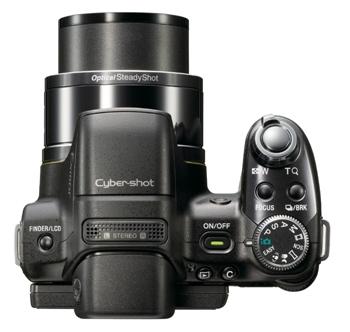 Sony HX1 (Vue Haute)