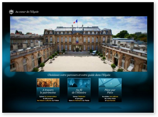 Visite Virtuelle Elysee Paris