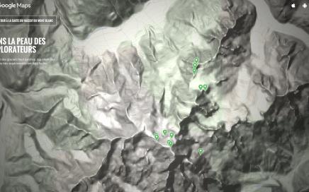 visite virtuelle google du mont blanc