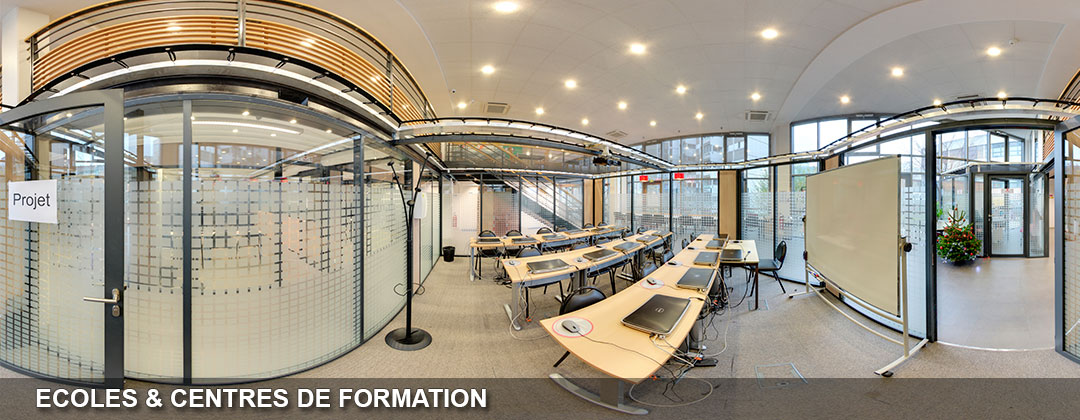visite virtuelle école et centre de formation