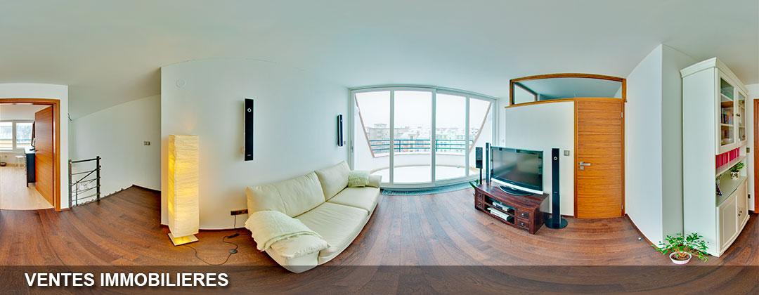 la visite virtuelle pour une vente immobilière