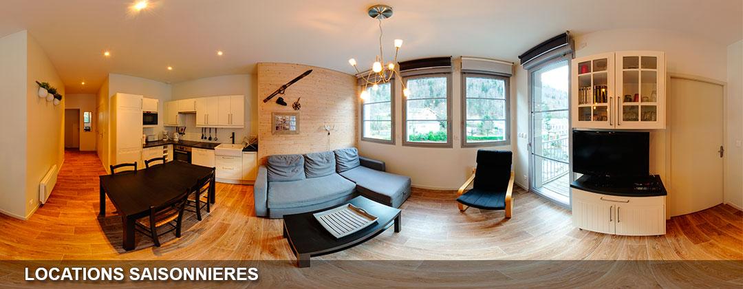 visite virtuelle appartement à louer