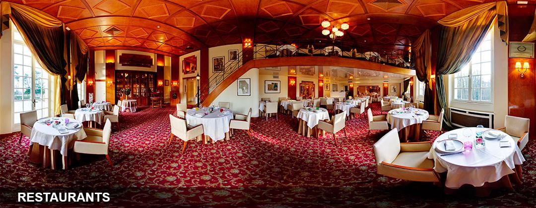 la visite virtuelle d'un restaurant