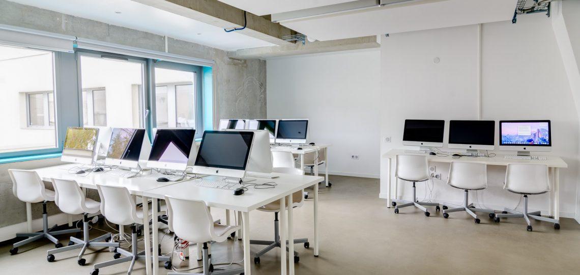 Photographies visite virtuelle d'une école à Nantes