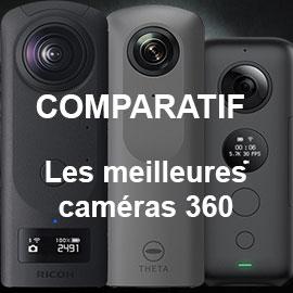 comparatif cameras 360