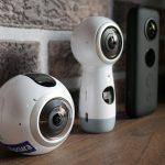 des caméras 360