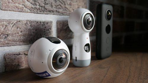 Exemples de caméras 360 degrés